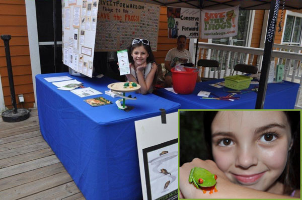 11-Year-Old Frog Advocate Named A Winner Of The Gloria Barron Prize For Young Heroes