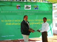 Turtle Survival Alliance Opens First Turtle And Tortoise Rescue Facility In Myanmar